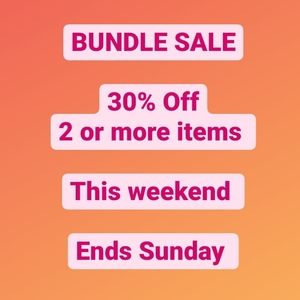30% OFF BUNDLE SALE